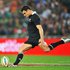 Dan Carter converts a penalty kick.Photo / Getty Images
