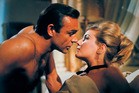 Sean Connery, left, as James Bond in a scene from the 1963 film, 'From Russia With Love.' Photo / AP