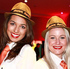 Aperol girls welcome guests to the live final. Photo / Max Lemeshenko