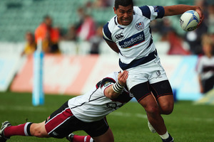 Charles Piutau of Auckland charges towards the line during the round 13 ITM Cup match between North Harbour and Auckland. Photo / Getty Images.