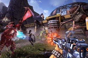 Borderlands 2 brings back the bullet storm of the original, but with more guns. Lots more guns. Photo / Supplied