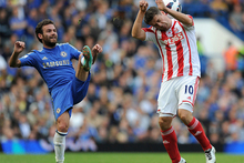 Stoke striker Michael Owen has blamed English football's diving epidemic on the influx of foreign players - but admitted that he has also gone to ground unnecessarily. Photo / AP