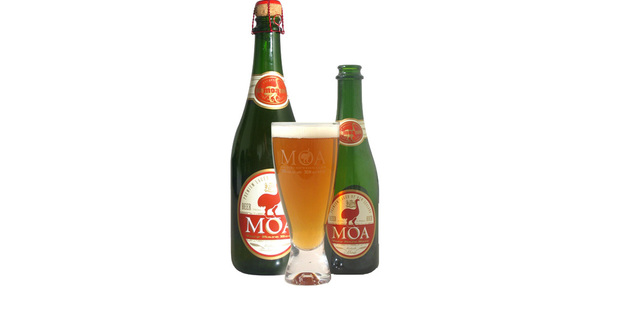 Export sales growth for Moa beer is around 200 per cent a year. Photo / Supplied
