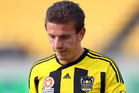 Wellington Phoenix striker Mirjan Pavlovic is unlikely to be seen at the A-League club in the near future. Photo / Getty Images.