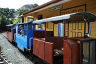 All aboard! Taking a ride at the Whangaparaoa Narrow Gauge Railway. Photo / Supplied