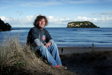 Whangamata surfer Paul Shanks says the famous surf break is being destroyed by continual dredging for the marina.  Photo / Alan Gibson