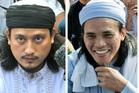 Convicted Bali bombers Imam Samudra (left) and Amrozi Nurhasyim. Photo / AP