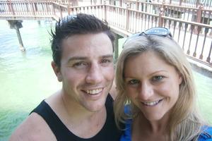 Toni Street and husband Matt France.Photo / Supplied