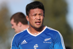 Keven Mealamu will play his 100th test in Brisbane. Photo / Getty Images