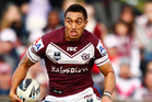 New Kiwis centre Dean Whare says playoffs football has helped him prepare for is Saturday's test.  Photo / Getty Images