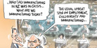 View: Cartoon: Manufacturing crisis?