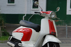Lambretta LM125. Photo / Jacqui Madelin