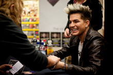 Adam Lambert is blazing a trail for gay musicians in the US. Photo /Dean Purcell