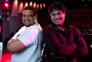 Pene (left) and Amitai Pati are raising cash so they can study opera in Wales. Picture / Simon Baker