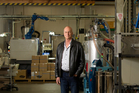 Murray Fenton, managing director of Auckland plastics designers and manufacturers Adept Limited. Photo / Richard Robinson
