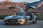 SLS AMG GT3 45th Anniversary model. Photo / Supplied