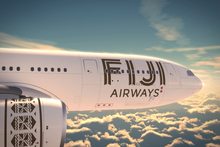 Air Pacific's David Pflieger says branding of the Airbus A330 will be true to Fiji. Photo / Supplied