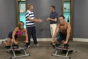 The Good Morning infomercial for the Ab Circle Pro which guarantees weight loss.