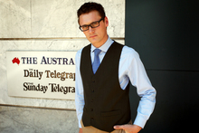 Jonathan Marshall has been given a top investigative journalism job after a year in Sydney. Photo / Rohan Kelly