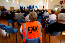 The EPMU jobs conference held in Grafton. Photo / Dean Purcell