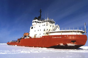 Russian icebreaker Vladimir Ignatyuk was called in to replace the nuclear ship for the Ross Sea voyage.