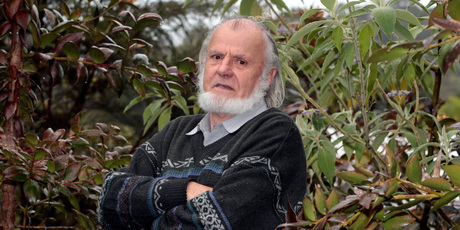 Ecologist Graeme Platt says officers who raided his house looking for banned trees were 'maggots'. Photo / Michael Craig