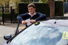 Kiwi teenager Jack Dunphy has twice failed the test, which