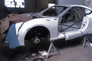 It looks like it's going to be a racing-model Toyota 86, but no one's saying. Photo / Supplied