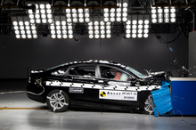 The Hyundai i45 and VW Up have both received the maximum five star rating from Ancap. Photo / Supplied