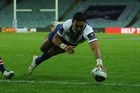 Enigmatic Krisnan Inu went from zero at the Warriors to try-scoring and field goal hero with the Bulldogs. Photo / Getty Images