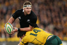 Kieran Read is a ready-made replacement for Richie McCaw as All Blacks skipper.Photo / Getty Images 