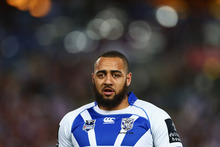 Sam Kasiano of the Bulldogs makes his debut for the Kiwis this weekend. Photo / Getty Images