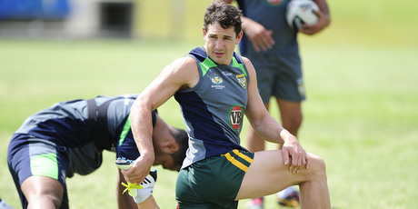 Many rate Storm, Queensland and Australia fullback Billy Slater as the greatest ever to play league. Photo / Getty Images