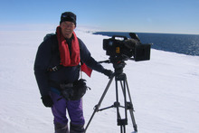 Peter Young's documentary on the Ross Sea is to be screened at an Antarctic conservation conference.  Photo / Supplied