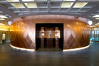 The orb-like courtroom in Wellington's Supreme Court takes visitors' breaths away. Photo / Mark Mitchell