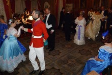 Modern-day Victorian dancers enjoy dressing up and experiencing a different time at a Highwic House ball. Photo / Supplied