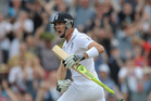 England's Kevin Pietersen. Photo / AP