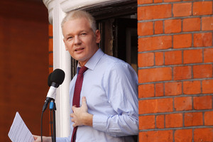 WikiLeaks founder Julian Assange. Photo / AP