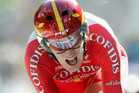Bradley Wiggins of England. Photo / Chirstophe Ena
