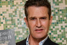 Rupert Everett at the launch of his new book Vanished Years. The actor experiments with anti-ageing treatments.Photo / AP 