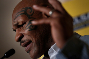 Former heavyweight boxing champion Mike Tyson. Photo / AP