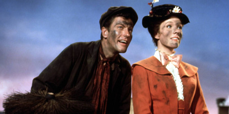 Julie Andrews and Dick Van Dyke in the original smash hit. Photo / 