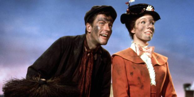 Julie Andrews and Dick Van Dyke in the original smash hit. Photo /