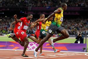 Jamaica's Usain Bolt. Photo / Mark Mitchell