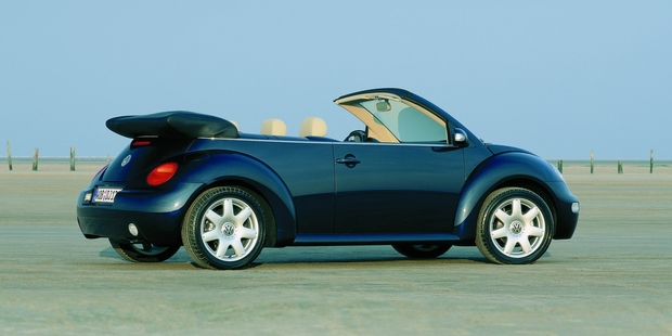 The VW Beetle Cabrio. Photo / Supplied
