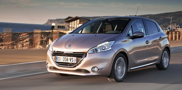 The new Peugeot 208, at Portugal launch. Photo / Supplied