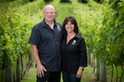Jennimay and Ross Millar of Millars Vineyard in Mangawhai.  Photo / Natalie Slade