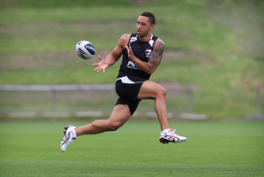 Captain Benji Marshall. Photo / Greg Bowker
