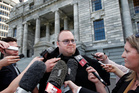 TVNZ has been left behind in the coverage of the Kim Dotcom saga. Photo / Mark Mitchell