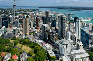 Auckland is holding up in economic activity but Canterbury is falling sharply. Photo / Supplied